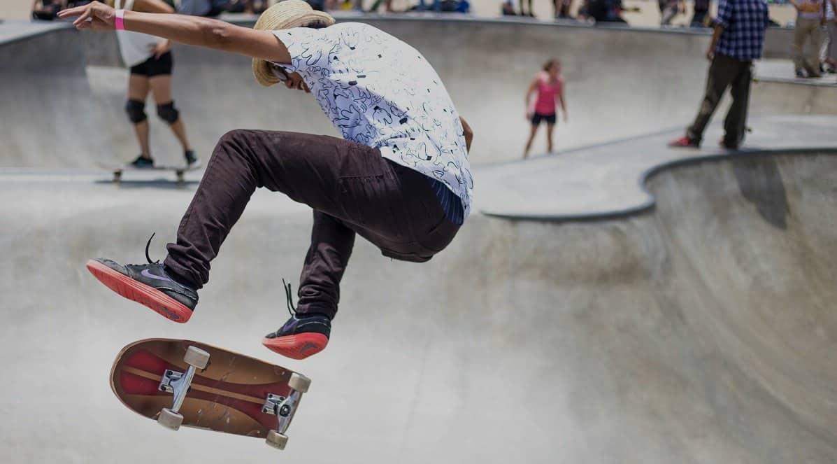 Longboard oder Skateboard