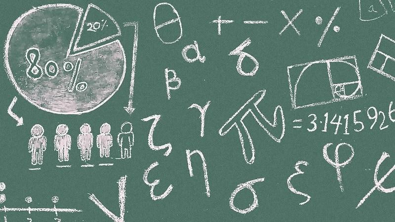 Mathematik Tafel