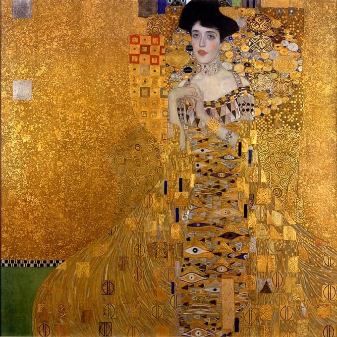 Gustav Klimt Adele Bloch Farmer I