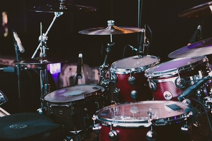 Schlagzeug Aufbau Hero