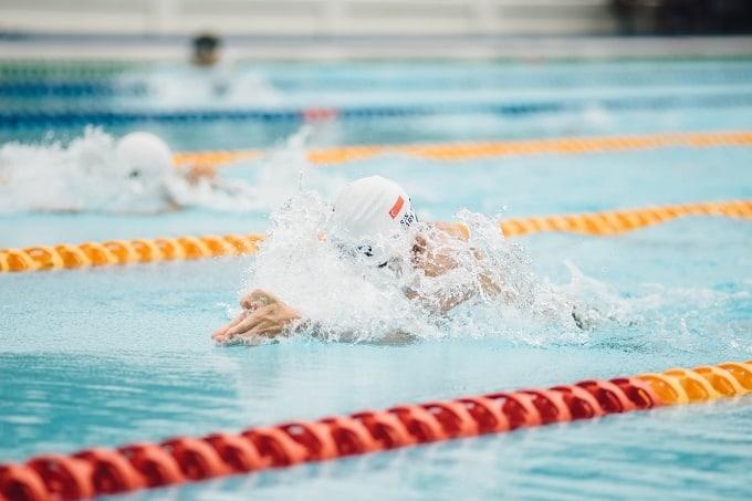 Schwimmstile Hero