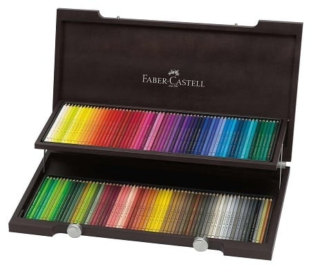 Faber Castell Polychromos Holzkoffer