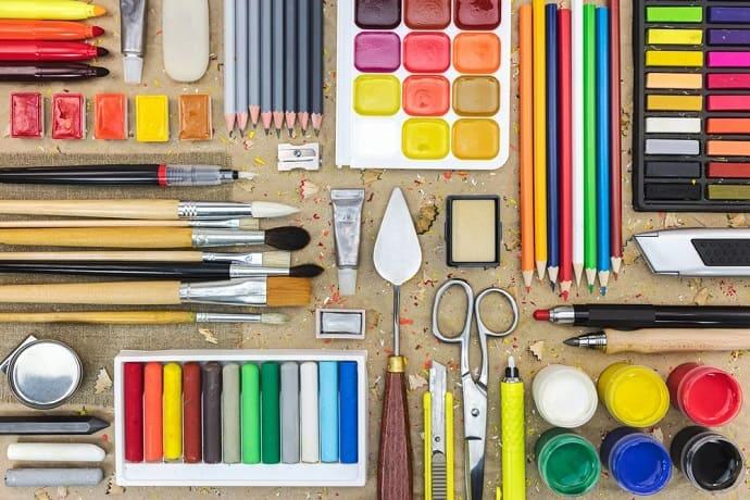 Geschenke zum Malen und Zeichnen Hero