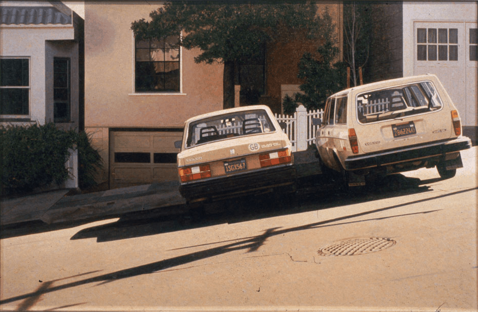Robert bechtle Two Volvos