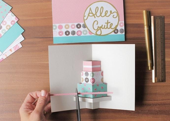 Geburtstagskarten basteln 18 geburtstag