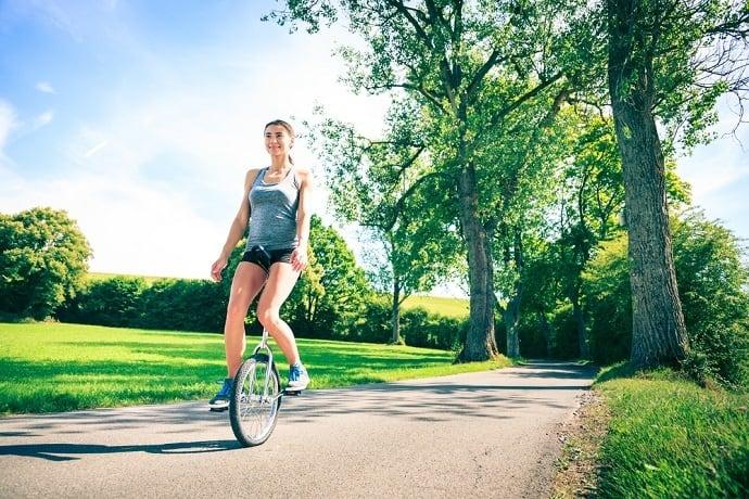 Einrad fahren lernen Hero
