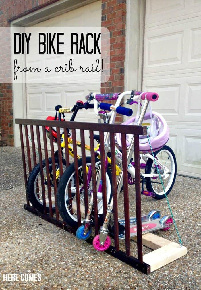 15 ideen wie du eine fahrrad wandhalterung selber bauen kannst diy ideen. Black Bedroom Furniture Sets. Home Design Ideas