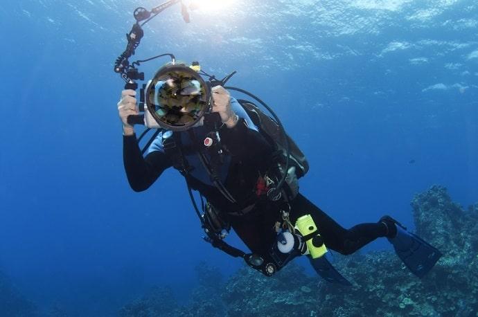 Unterwassergehäuse Hero