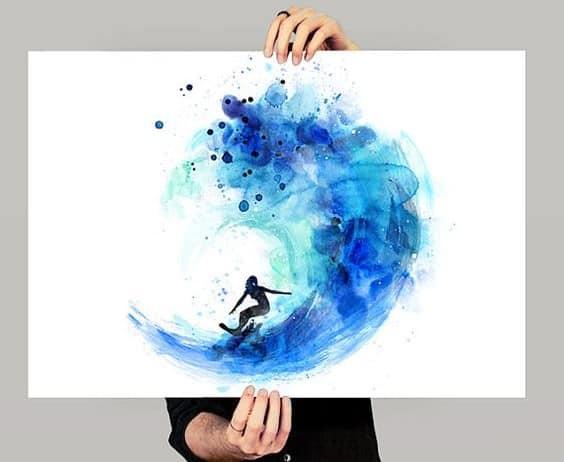 40 Bilder Zum Nachmalen Inspirationen Zu Allen Farbmedien Hobbeasy