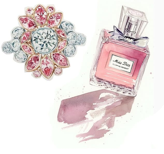 Parfum Illustration
