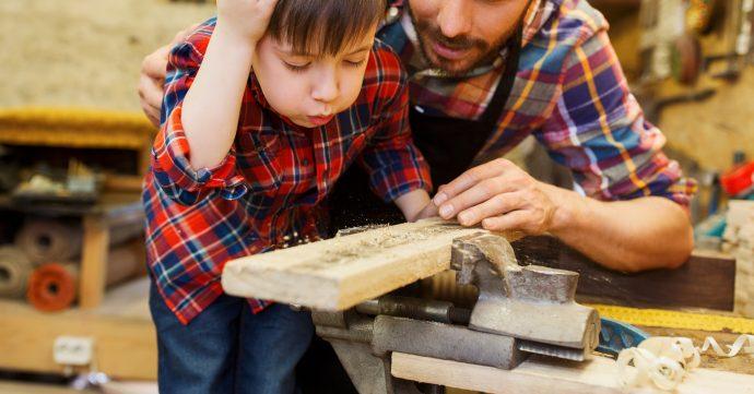 Holzarbeiten mit Kindern Hero