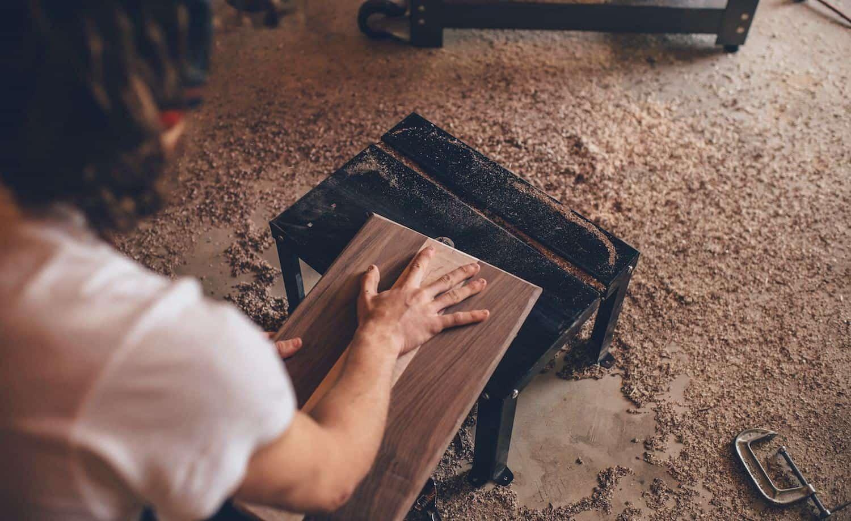 Dekorationen aus Holz basteln Titelbild