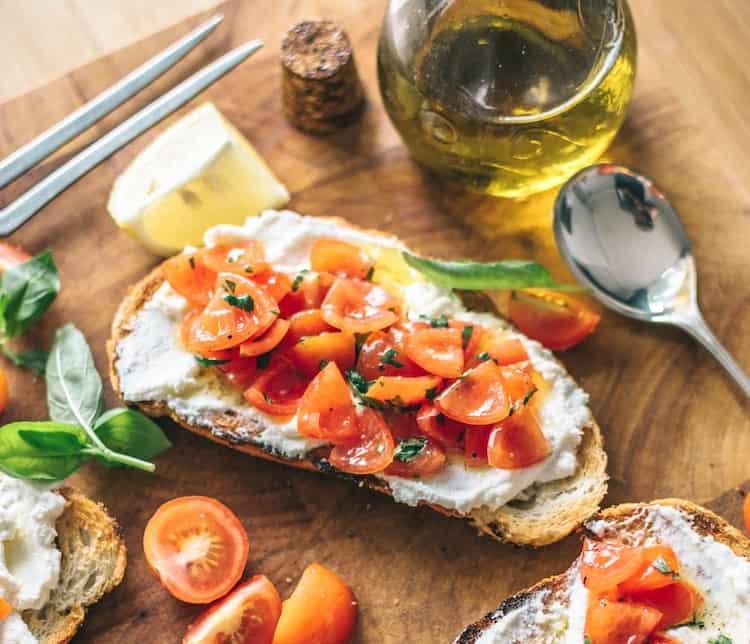 Mediterrane Ernährungsweise für Sportler